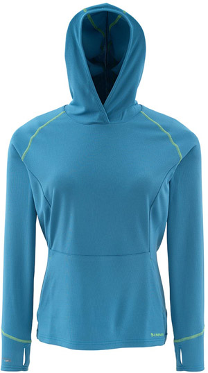 <font color=red>On Sale - Clearance</font><br>Simms Women's Horizons Hoody - Ink